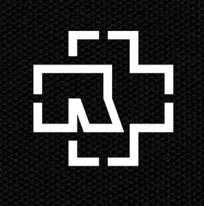 "Rammstein Logo 4x4"" Printed Patch"