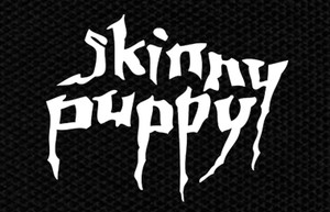 "Skinny Puppy Logo 4.5x3"" Printed Patch"