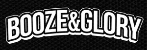 "Booze & Glory Logo 5x2"" Printed Patch"