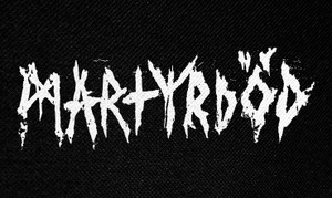 "Martyrdod Logo 5x3"" Printed Patch"