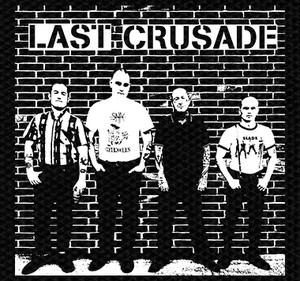 "Last Crusade Band Picture 5x5"" Printed Patch"