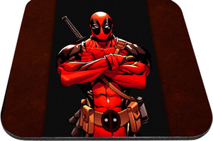 "Deadpool Posing 9x7"" Mousepad"