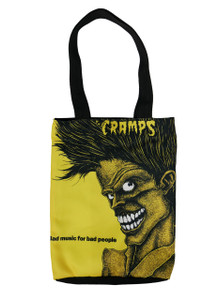 Go Rocker - The Cramps - Bad Music For Bad People Shoulder Bag