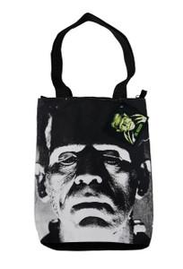 Frankenstein Shoulder Tote Bag