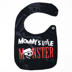Go Rocker - Mommy's Little Monster Baby Bib