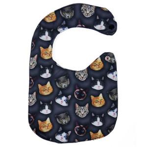 Cat Collage Baby Bib