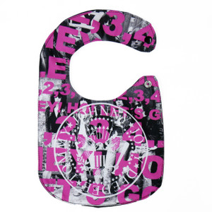 Go Rocker - The Ramones Hey! Ho! Baby Bib