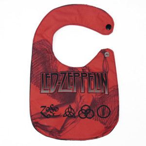 Go Rocker - Led Zeppelin Baby Bib