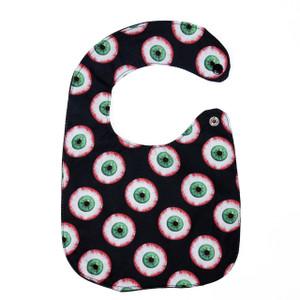 Eyeball Pattern Baby Bib