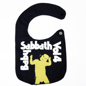 Go Rocker - Baby Sabbath Vol 4 Bib