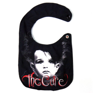 Go Rocker - The Cure Baby Bib