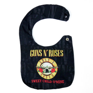 Go Rocker - Guns N' Roses Sweet Child O' Mine Baby Bib