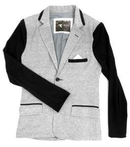 Fango Clothing - Grey Coat with  Black Sleeves