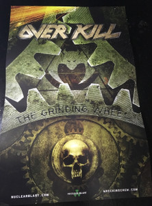 "Overkill - The Grinding Wheel 11x17"" Poster"