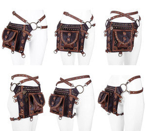 Restyle Clothing - Studded Holster Bag