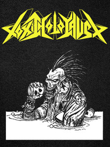 """Toxic Holocaust - Alcoholocaust Backpatch 10.25x12"""""""