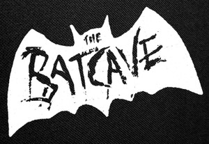"""The Batcave Logo Backpatch 12.5x8"""""""