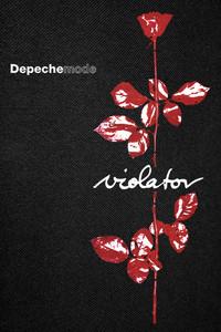 "Depeche Mode - Violator on Backpatch 11x17"""