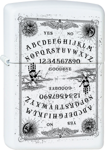 Ouija Board White Lighter