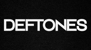 "Deftones Logo 6x3"" Printed Patch"