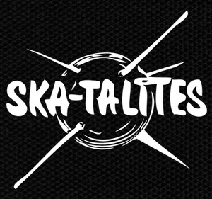 "Ska-Talites Logo 4x4"" Printed Patch"