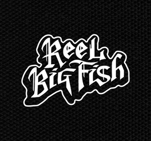 "Reel Big Fish Logo 4x4"" Printed Patch"