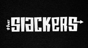 "The Slackers Logo 6x3"" Printed Patch"