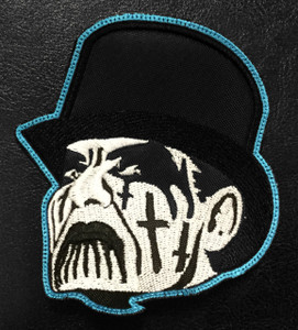 """King Diamond Face 3x3"""" Embroidered Patch"""