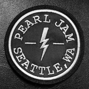 """Pearl Jam Seattle, WA 3"""" Embroidered Patch"""