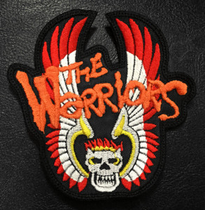 """The Warriors Tribe Logo 3.5x4"""" Embroidered Patch"""