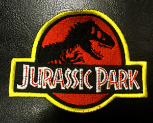 "Jurassic Park Logo 3.5"" Embroidered Patch"