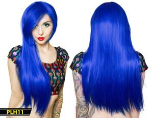 Blue Long Wig