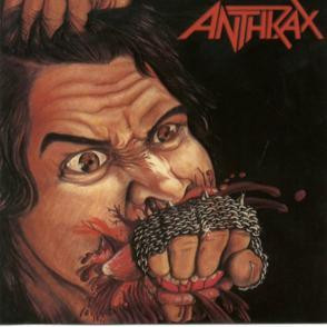 "Anthrax - Fistful Of Metal 4x4"" Color Patch"