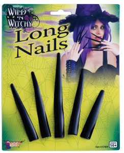 Wild and Witchy Long Plastic Nails