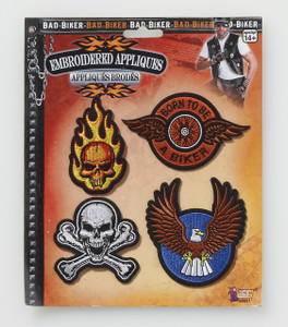 Bad Biker Patches 4-Pack