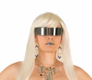 Wraparound Mirror Sunglasses