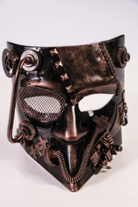 Steampunk Jester Mask