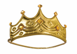 Plastic King Crown