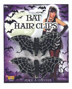 Bat Glitter Hair Clip