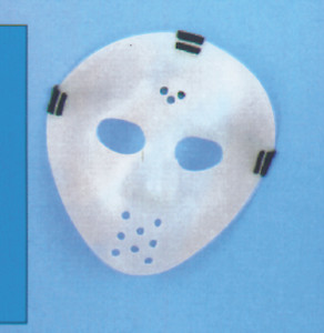 Hockey Mask Glows in the Dark