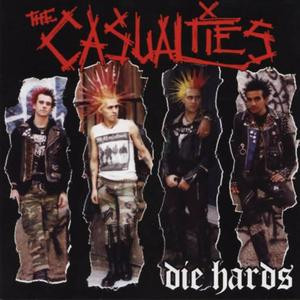 "The Casualties - Die Hards 4x4"" Color Patch"