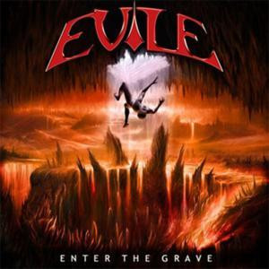 "Evile - Enter The Grave 4x4"" Color Patch"