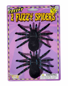 Rubber Decor Spider Set