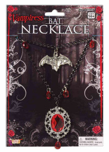 Vampiress Bat Necklace