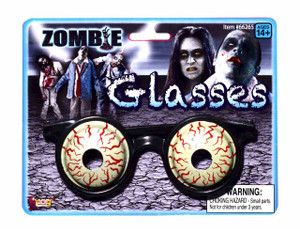 Zombie 3-D Glasses