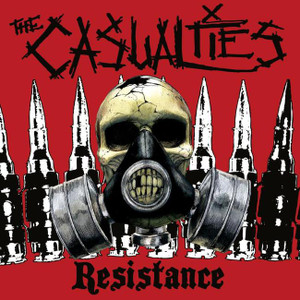 "The Casualties - Resistance 4x4"" Color Patch"