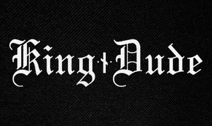 "King Dude Logo 5x3"" Printed Patch"
