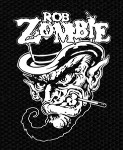 "Rob Zombie Leprachaun 3x4.5"" Printed Patch"