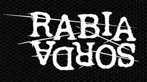 "Rabia Sorda Logo 4.5x2.5"" Printed Patch"