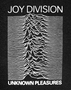 "Joy Division Unknown Pleasures Backpatch 12x16"""